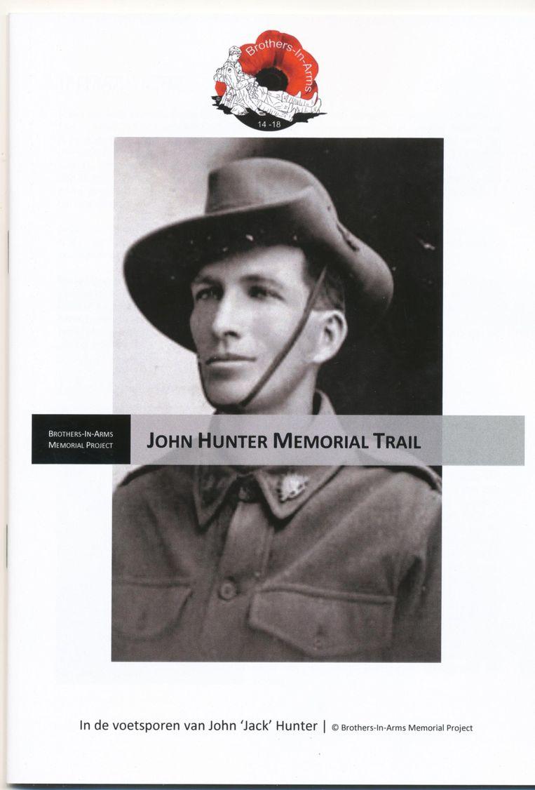 De wandeling of 'trail' is vernoemd naar John Hunter.