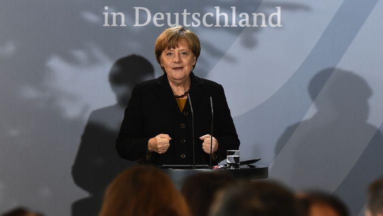 'Angela Merkel durft veel van haar bevolking en daarmee de rest van de wereld te vragen' Beeld anp