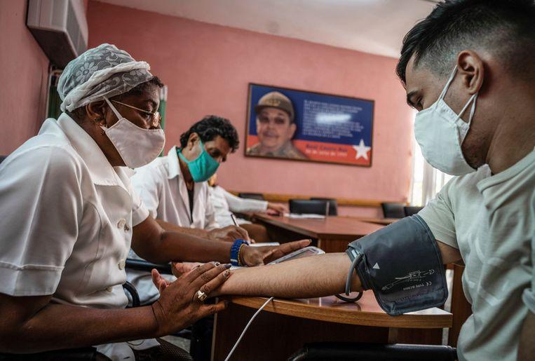 Cuba heeft een rijke geschiedenis in de ontwikkeling van eigen vaccins, vanwege de Amerikaanse boycot in de jaren zestig van de vorige eeuw.  Beeld Reuters