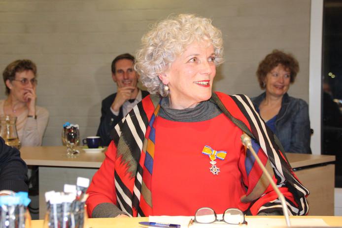 Willem Couwenberg en Marije de Groot nemen afscheid van de gemeenteraad.