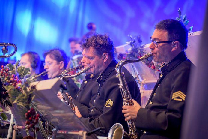Het orkest van de Koninklijke Luchtmacht treedt zaterdag 23 maart op in Vught.