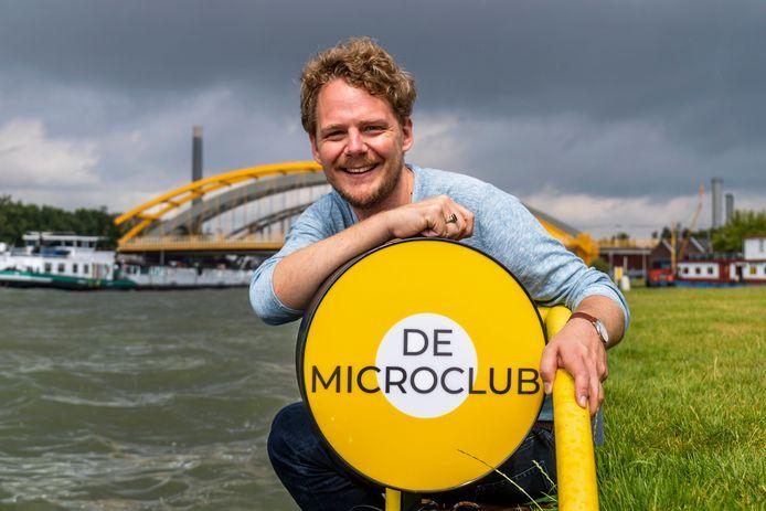Melvin Bruhn is de oprichter van de Microclub.
