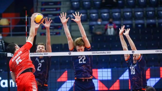 Volleyballers na zege op Turkije al zeker van achtste finales EK