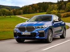 Lichtgevende grille: de BMW X6 kon dus nog extravaganter