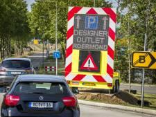 Drukte in Maastricht en bij Designer Outlet in Roermond