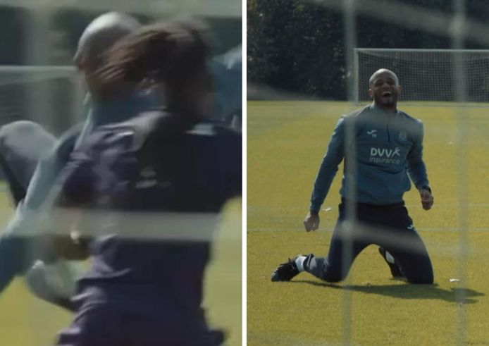 Vincent Kompany s'éclate à l'entraînement. Il a réussi à marquer un joli but, comme le montre une vidéo publiée sur la page Instagram d'Anderlecht.