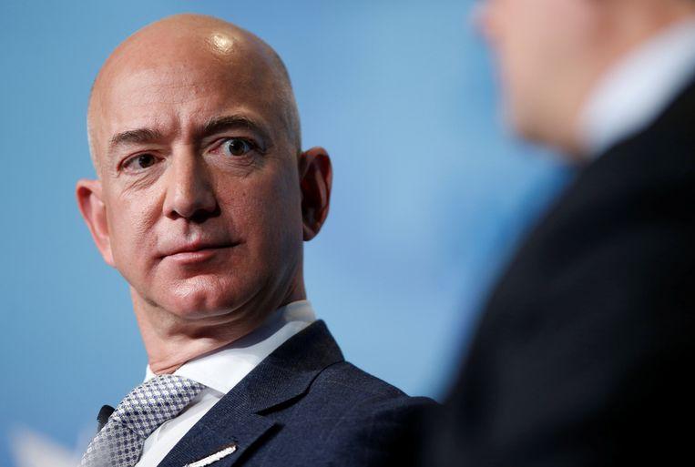 Jeff Bezos, CEO van Amazon. Beeld REUTERS