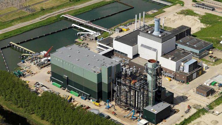 Vattenfall wil de grootste biomassacentrale van Nederland bouwen, maar belooft na twaalf jaar de verbranding van biomassa geleidelijk af te bouwen en uiterlijk in 2045 te stoppen. Beeld Nuon