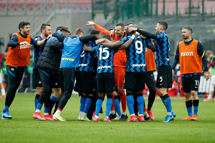 Internazionale won afgelopen zondag met 0-3 tegen stadsgenoot AC Milan.