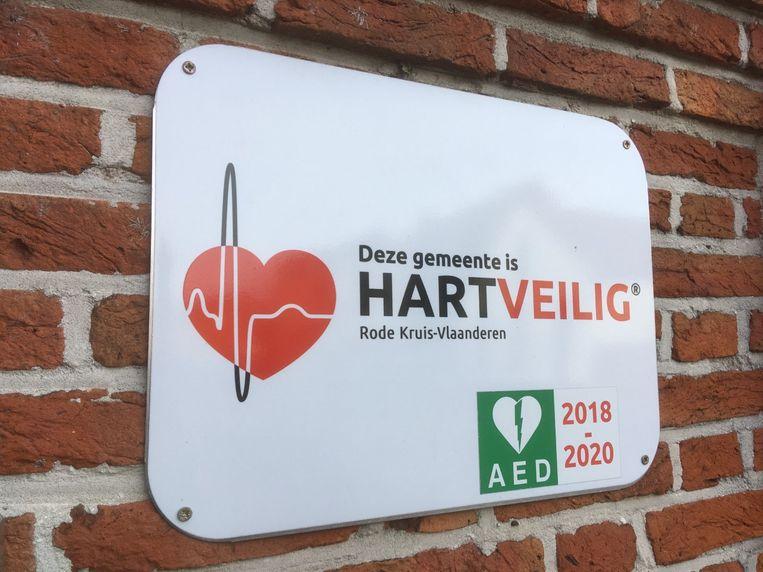 Herenthout kreeg een verlenging tot 2022 betreffende het label 'Hartveilige gemeente'
