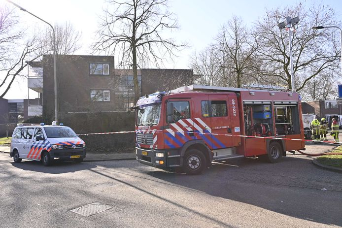 De gaslekkage in de wijk Tolhuis.