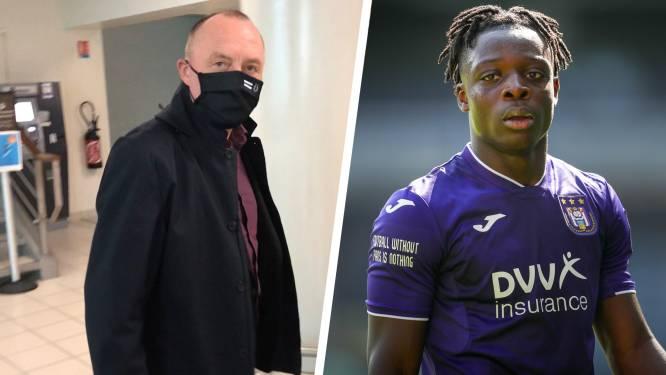 """Anderlecht-voorzitter Vandenhaute in Rennes voor transfer Doku: """"Toont aan hoe hoog het water hen aan de lippen staat"""""""