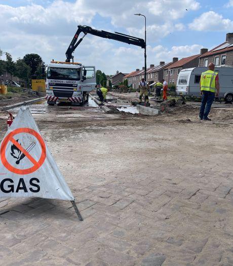 20 woningen in Gemert ontruimd vanwege lekkage gasleiding: 'We hoorden het gas er uit blazen'