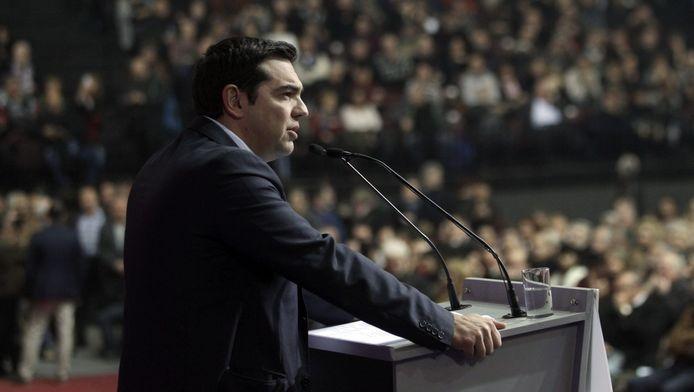 Als het extreemlinkse Syriza van Alexis Tsipras (foto) aan de macht komt, is een Grexit niet ondenkbaar.