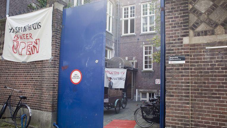 Het Spinhuis aan de Oudezijds Achterburgwal 185 Beeld Bart van Heezik