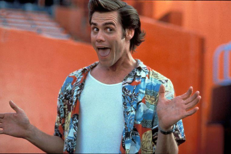 Jim Carrey in Ace Ventura: Pet Detective. Beeld