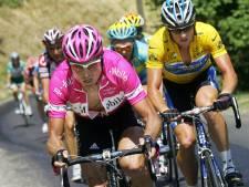 De nummers 2 van Armstrong-Tours niet brandschoon