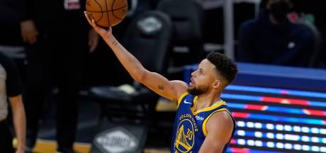 Curry op dreef voor Golden State Warriors