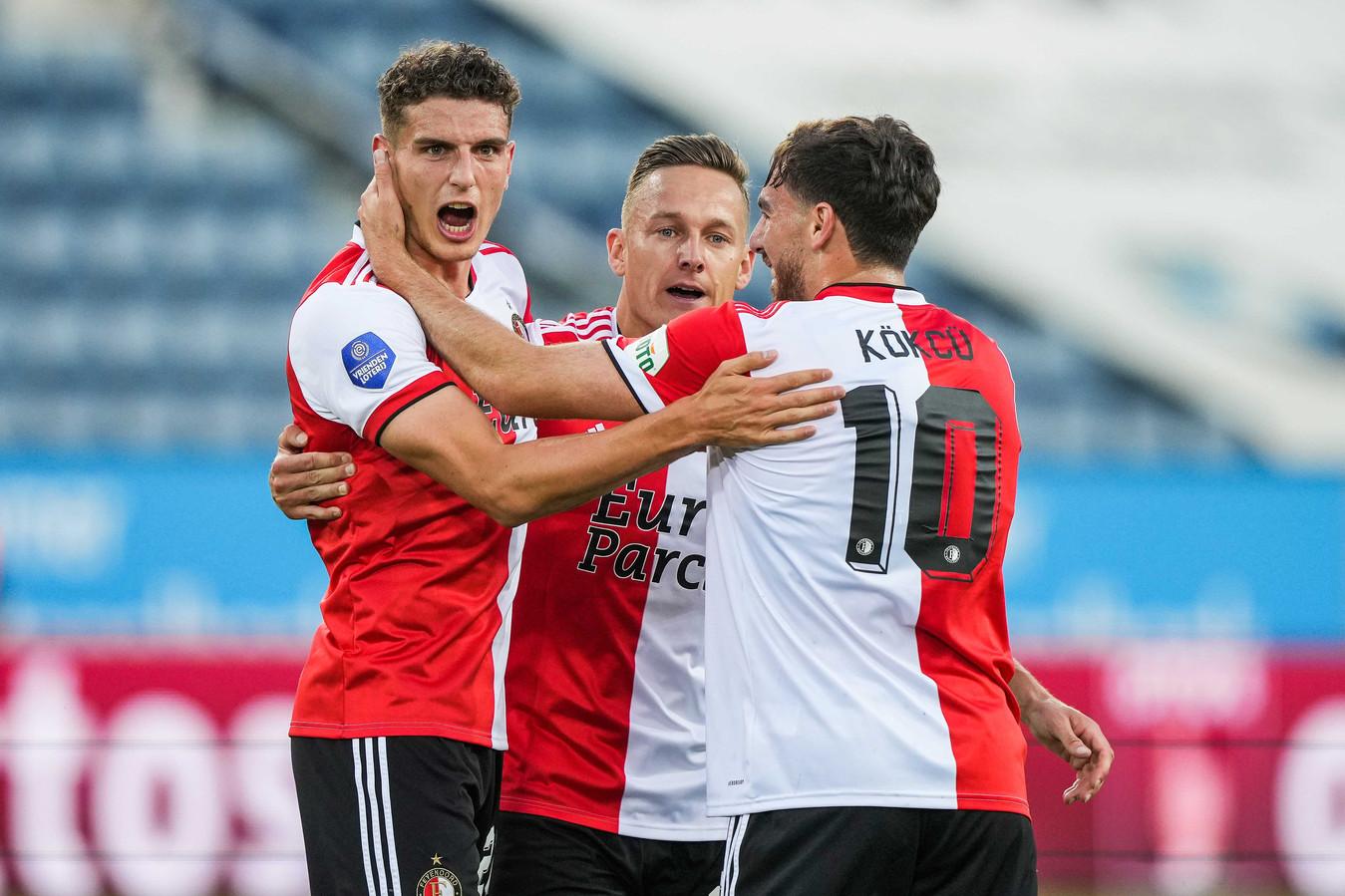 Een week na zijn hattrick tegen FC Drita scoorde Guus Til vanavond twee keer in de eerste helft in Luzern.