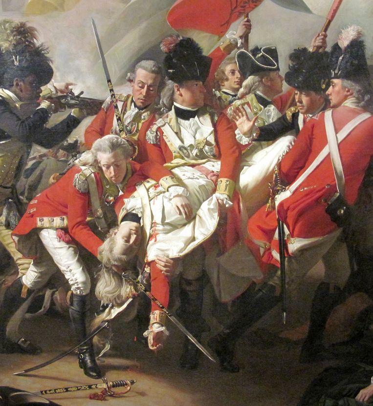 John Singleton Copley, De dood van majoor Peirson (detail), 1783. Beeld Tate Britain