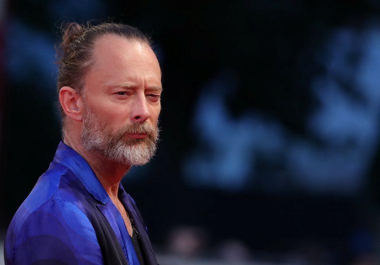 Thom Yorke in Venetië op de wereldpremière van 'Suspiria'. Beeld REUTERS