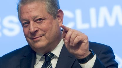 """Al Gore: """"Niemand kan klimaatbeweging stoppen, ook Trump niet"""""""