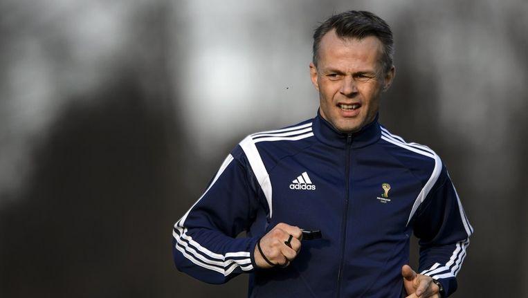 Kuipers legde vorige week in Zürich een fitnesstest af in aanloop naar het WK. Beeld afp