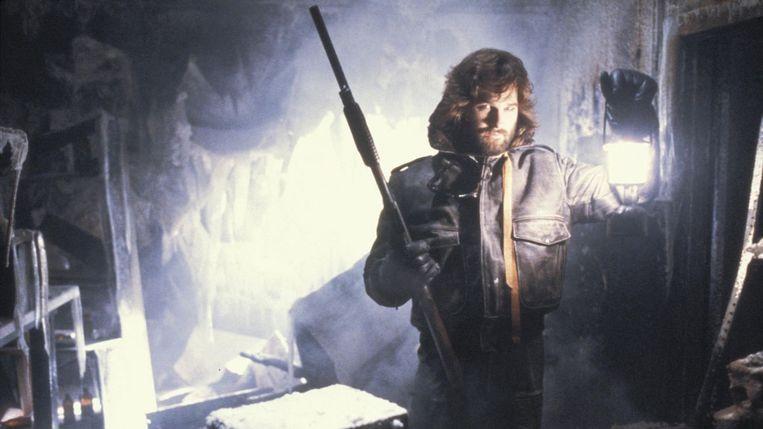 Kurt Russell in 'The Thing'. Beeld Universal