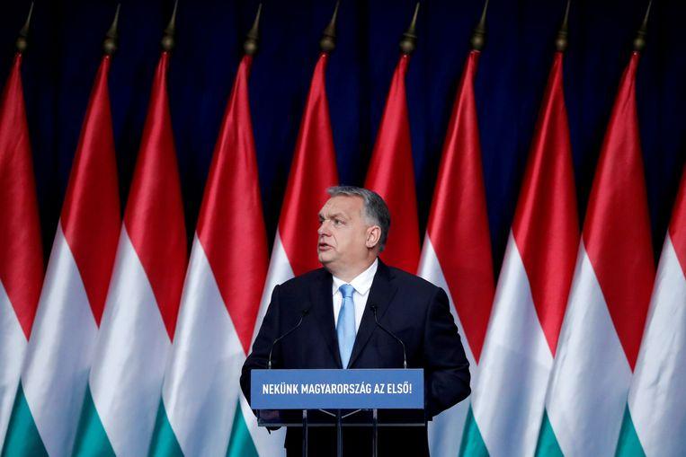 Hongaars premier Viktor Orban Beeld REUTERS