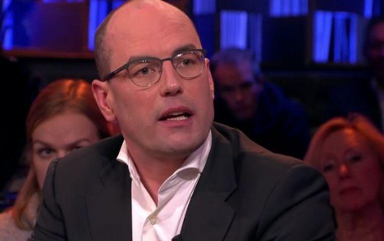 Predikant Henk-Jan Prosman. Beeld