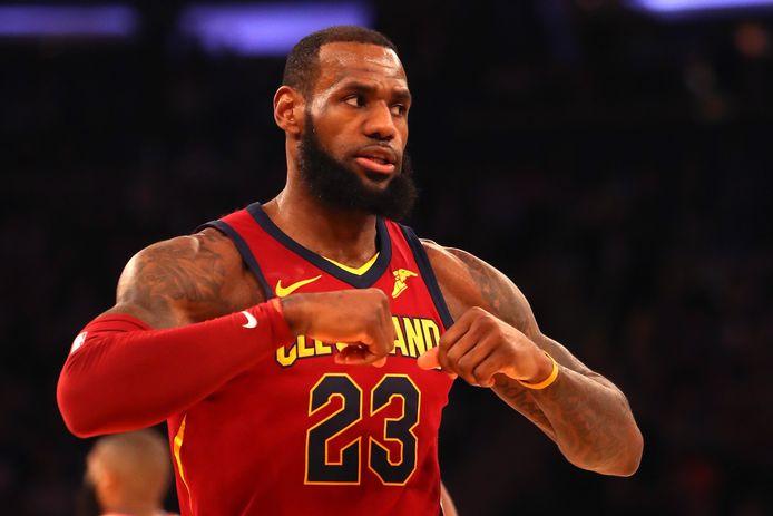 LeBron James, de onbetwiste sterspeler van de Cleveland Cavaliers.