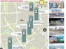 Woontorens op plek zwembad, theater en belastingkantoor: Oss schiet omhoog in centrum en spoorzone