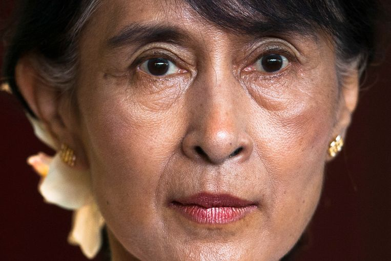 Aung San Suu Kyi  Beeld AP