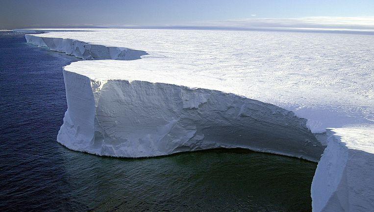De kust van McMurdo Sound. Beeld afp