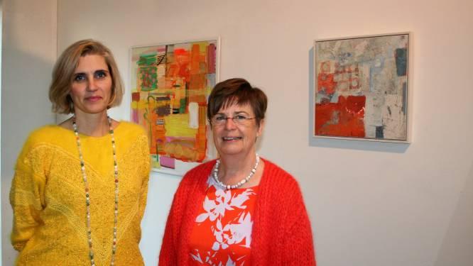 Els en Christel openen kunstexpo in De Wasserij