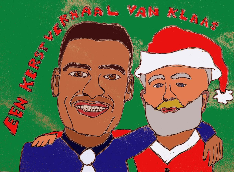 Lange Frans en Jaap van Dissel op kerstavond. Beeld Klaas Knooihuizen