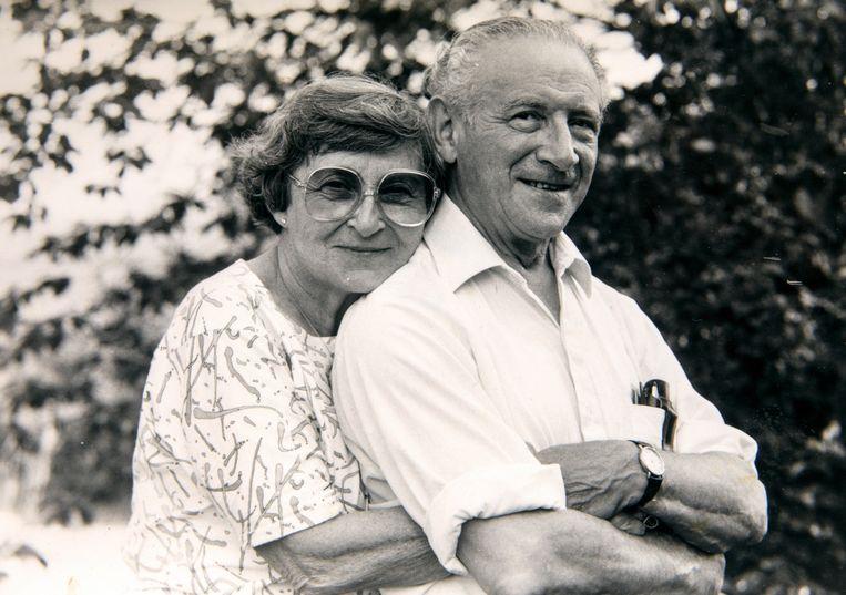 Selma Engel Wijnberg en Chaim Engel Selma Engel-Wijnberg. Beeld Privécollectie familie Engel-Wijnberg