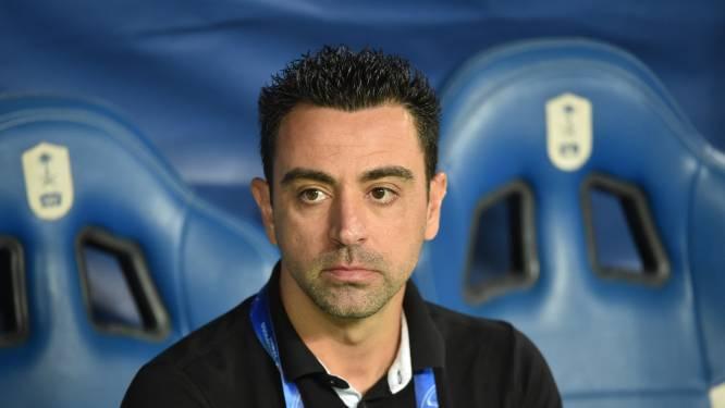 Xavi laat nog niets los over FC Barcelona
