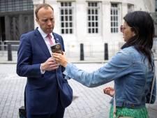 Britse 'coronaminister' onder vuur over 'affaire' met adviseur, die hij zelf had aangesteld
