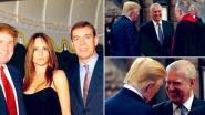 """""""Ik ken prins Andrew niet"""" zegt Trump, waarna talloze foto's van hen beiden opduiken"""