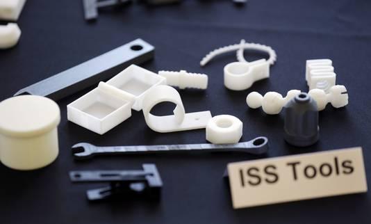 Onderdelen gemaakt met 3D-printer.