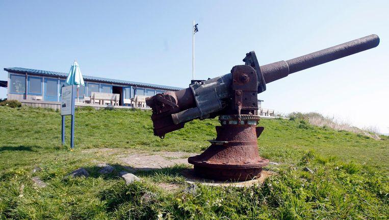 Pampus, één van de 45 forten waaruit de Stelling van Amsterdam bestaat. Beeld anp