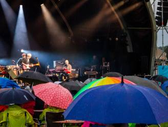 Regen houdt Raymond niet tegen: Rasartiest laat Puurs-Sint-Amandsenaren dansen in Landschapspark