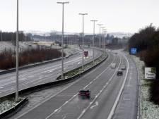 La pré-alerte routière est déclenchée en raison des conditions hivernales