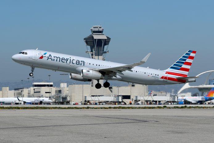 Archieffoto van LAX, het internationale vliegveld van Los Angeles (Californië).