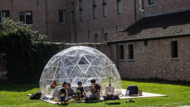 """De stad Diest komt met primeur in Vlaanderen: """"Slaap in je bubbel met je bubbel"""""""