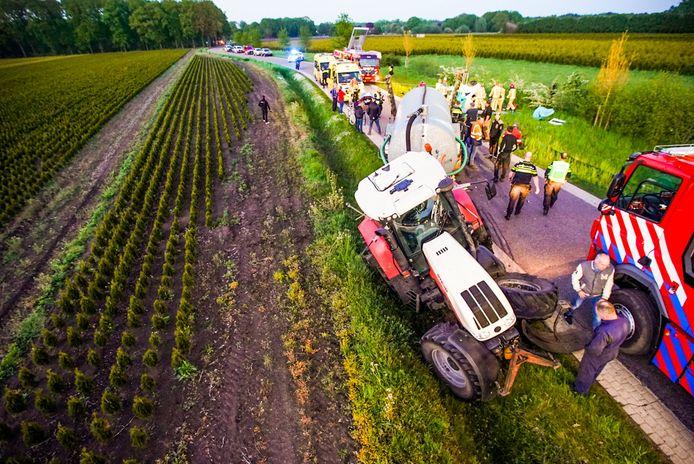 fotobert- Veldhoven  Ernstig ongeval Paddevenweg