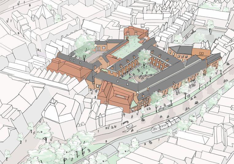Het nieuwe Amsterdam Museum Beeld Neutelings Riedijk Architects