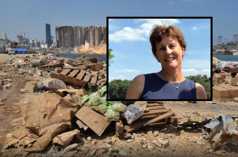 Explosie kost echtgenote Nederlandse ambassadeur Libanon het leven