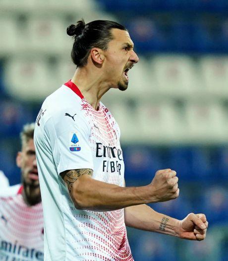 "Immortel, Ibra""zlatane"" Cagliari et remet l'AC Milan seule en tête"
